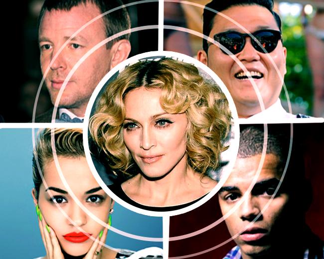 Мадонна и ее приближенные