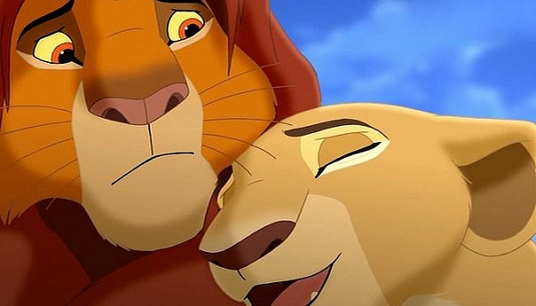 Нала и ее Король Лев