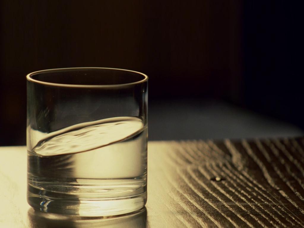Спасительный стакан воды