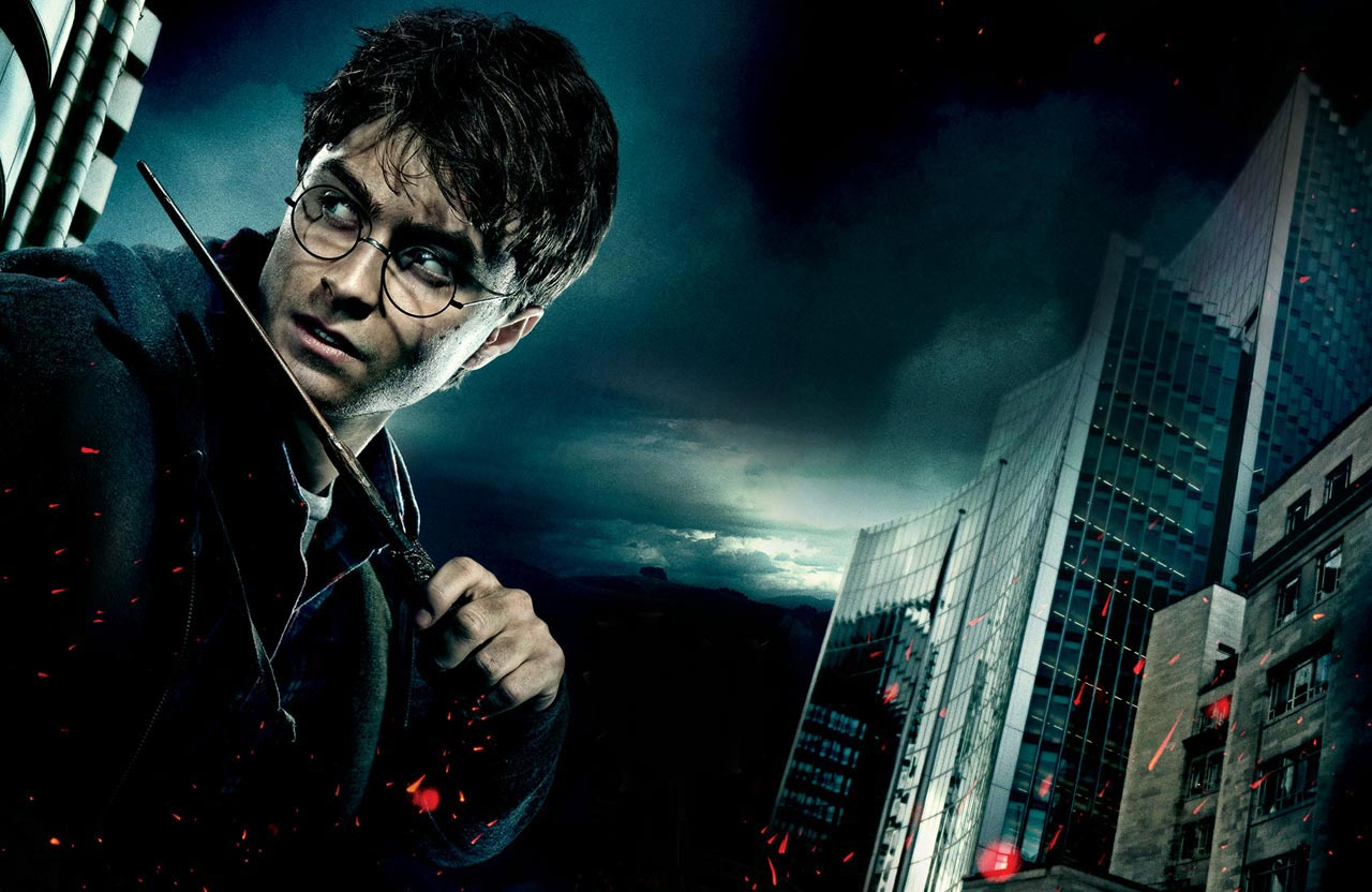 Дэниел Рэдклифф в образе Гарри Поттера