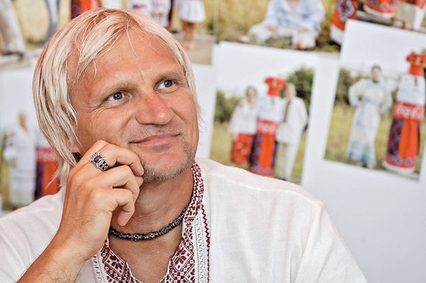 Олег Скрипка теперь еще и дизайнер