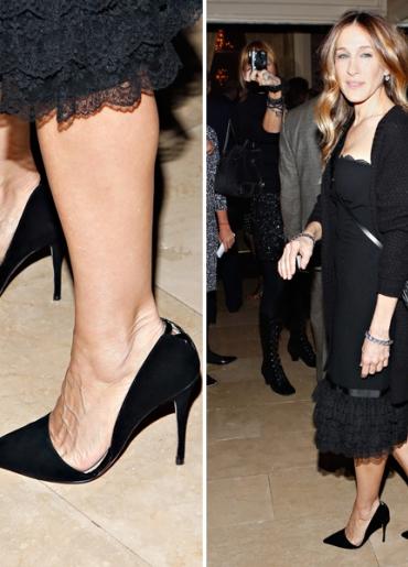 Сара Джессика Паркер в любимых туфлях