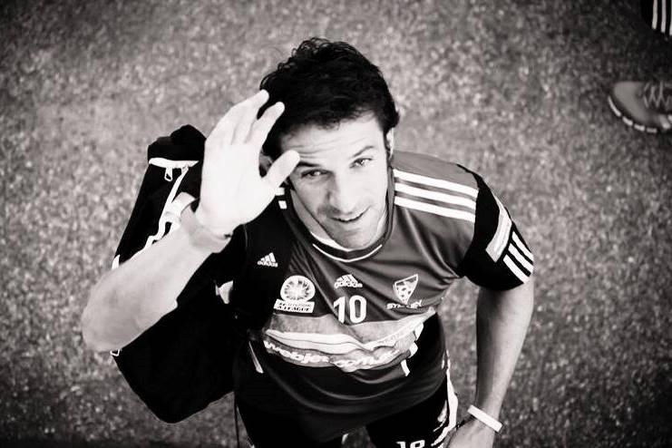 Футболист Алессандро Дель Пьеро - истинный итальянец