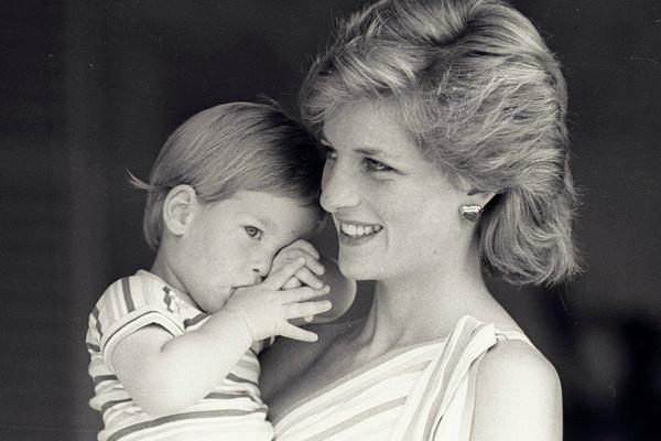 Принцесса Диана с сыном