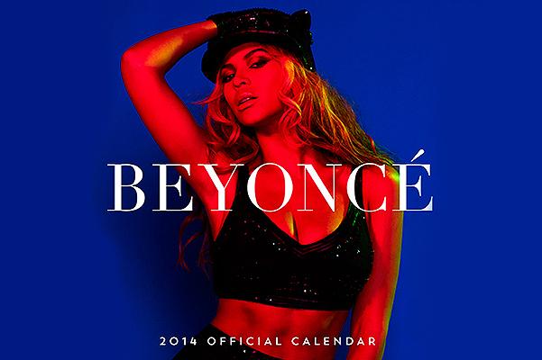 Бейонсе для именного календаря на 2014 год