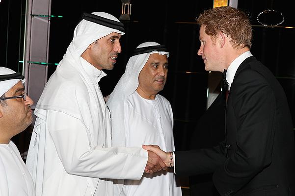 Принц Гарри и арабские миллионеры