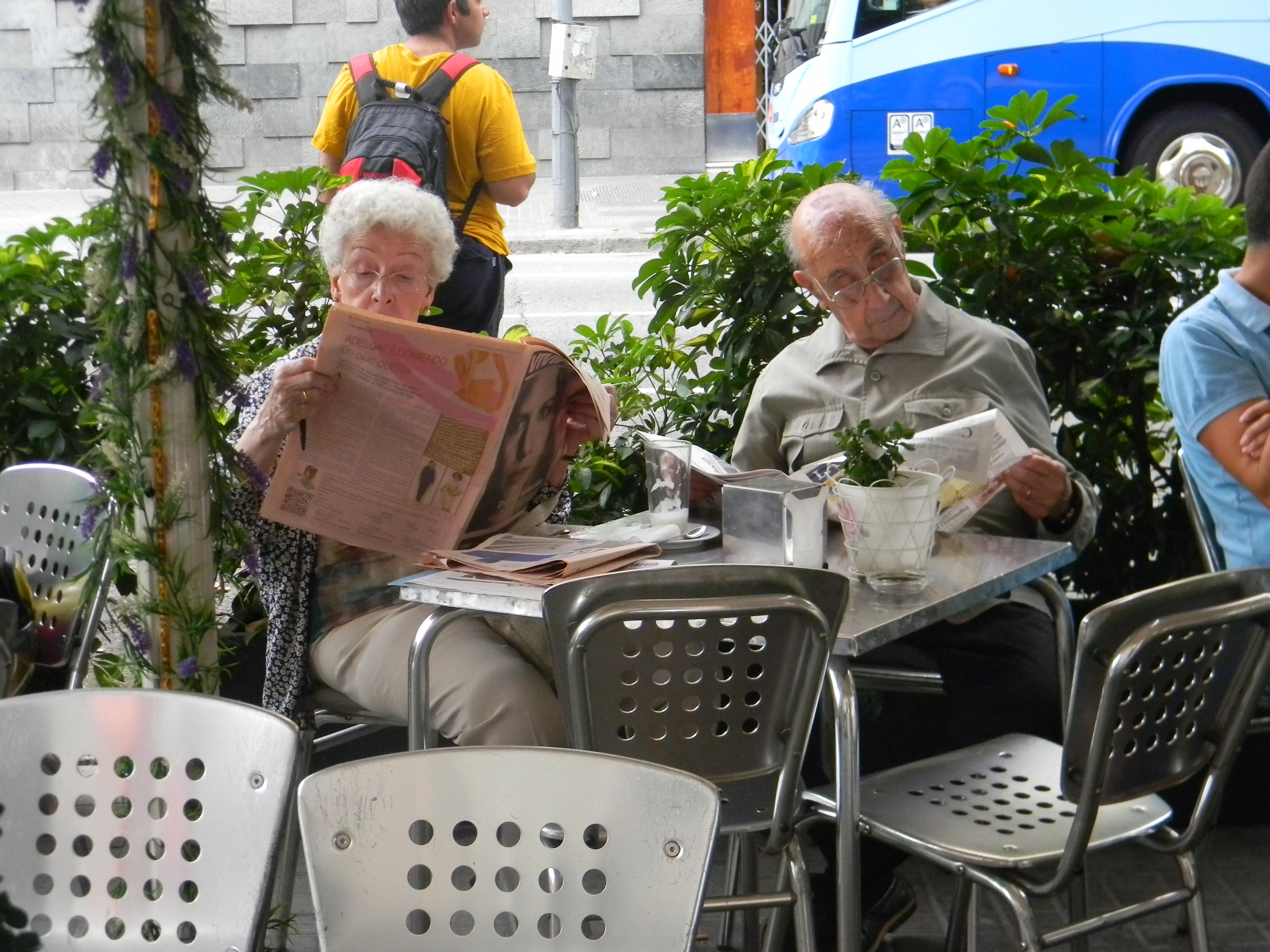 Забавные каталонские старички