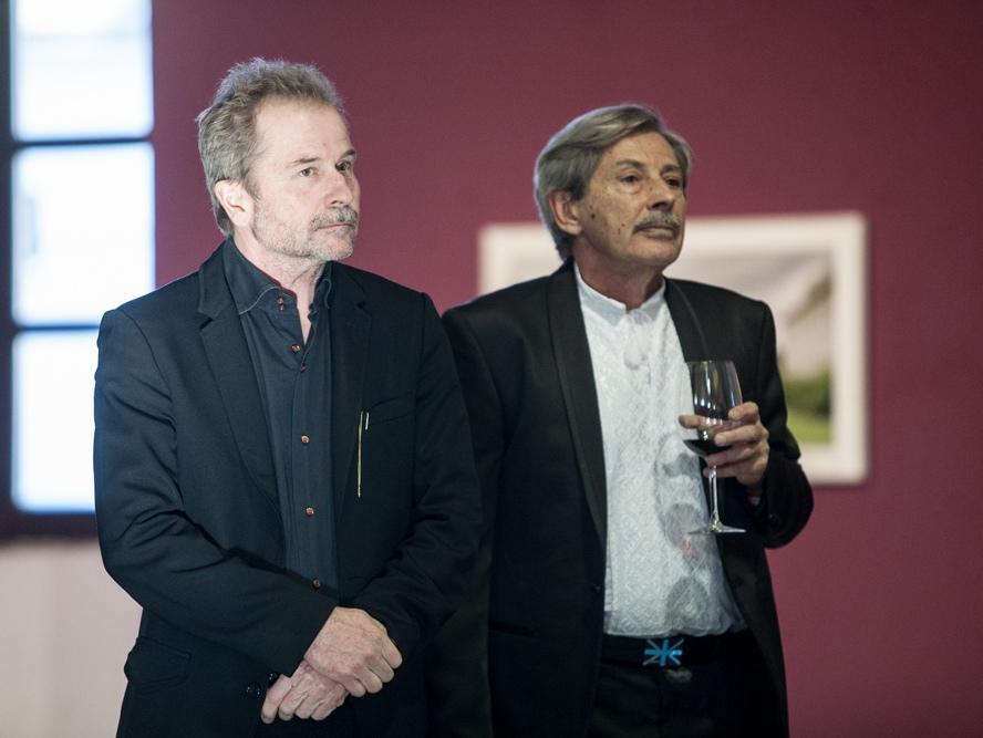 Специальный гость фестиваля Ульрих Зайдль и генеральный директор МКФ Молодость Андрей Хаппахчи