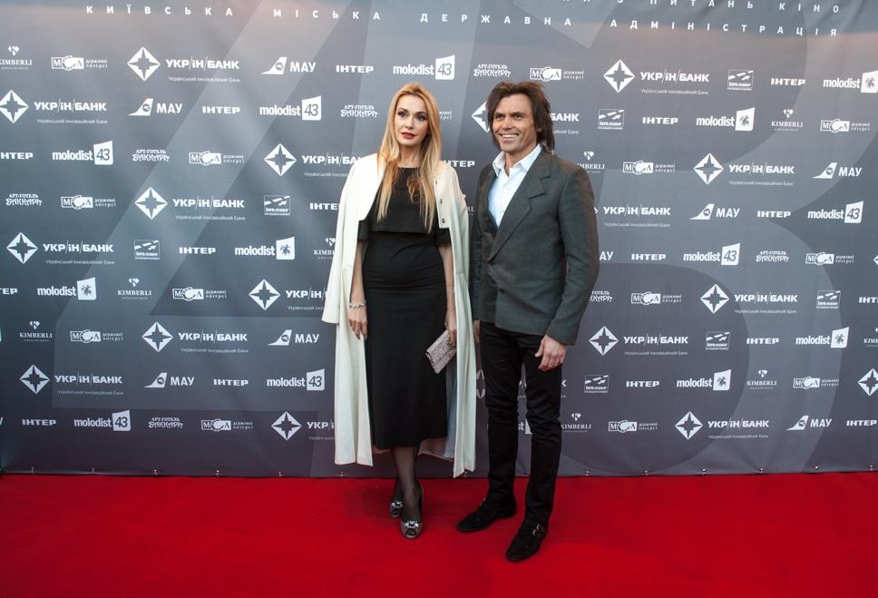 Гости открытия МКФ Молодость Ольга Сумская и Виталий Борисюк