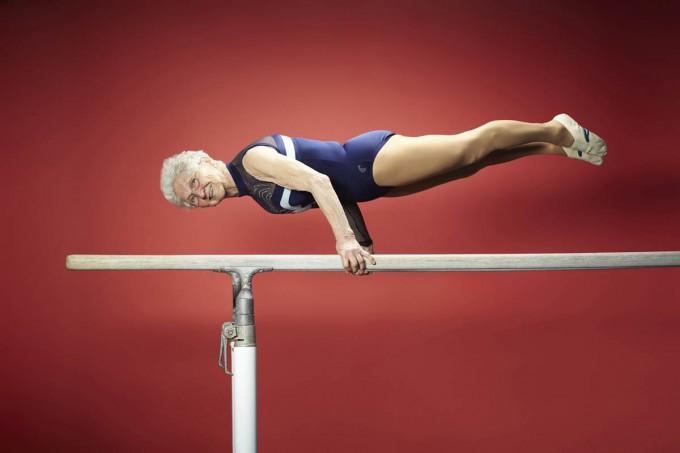 Джоанна Каас - самая старая гимнастка