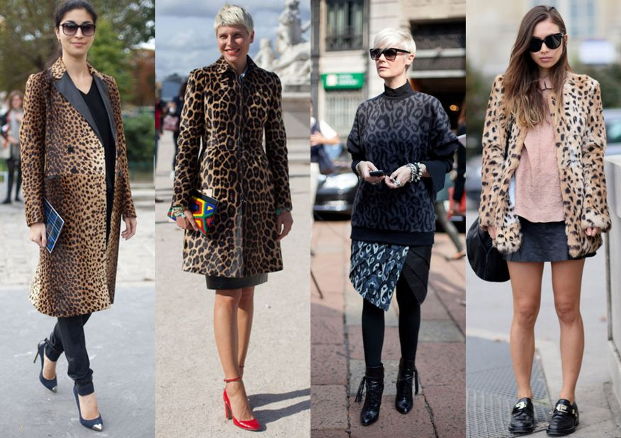 Леопардовый стиль