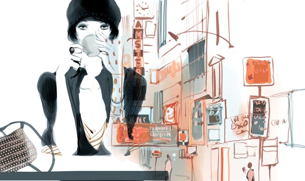 Иллюстрации: Sophie Griotto