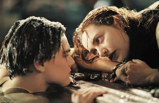 Кадр из «Титаника»