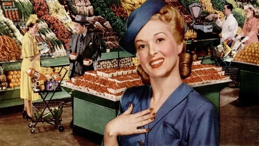 Оставайся леди даже в обычном супермаркете
