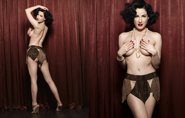 Dita Von Teese — Maxim Germany July 2008.