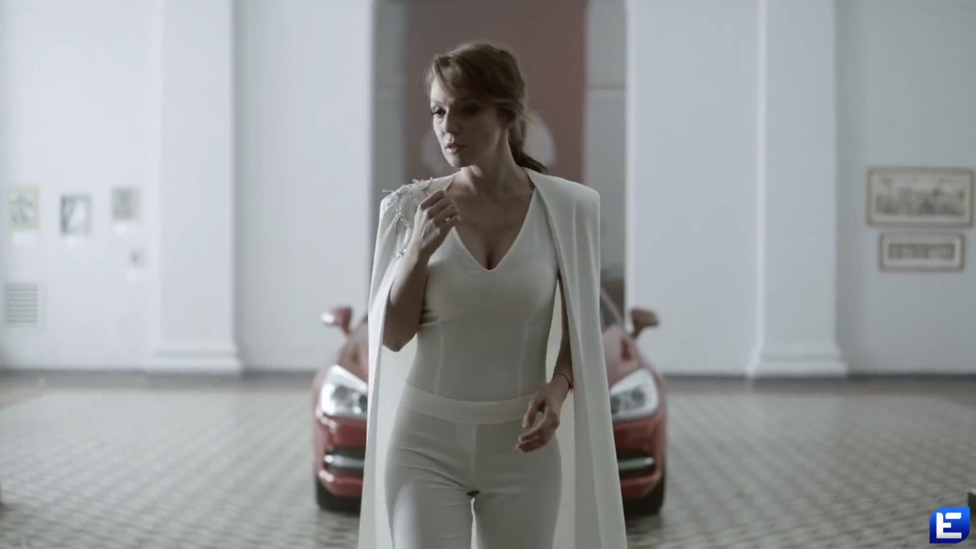 Кадр из клипа Альбины Джанабаевой