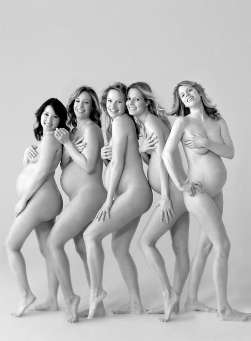 Беременность - это всегда красиво
