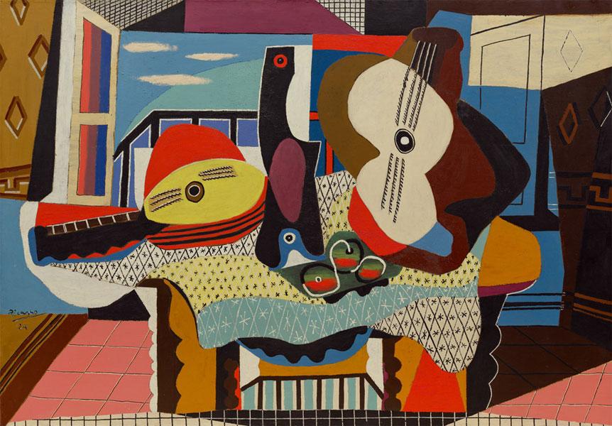 Пабло Пикассо - Мандолина и Гитара