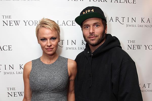 Памела Андерсон вместе с новым старым мужем Риком