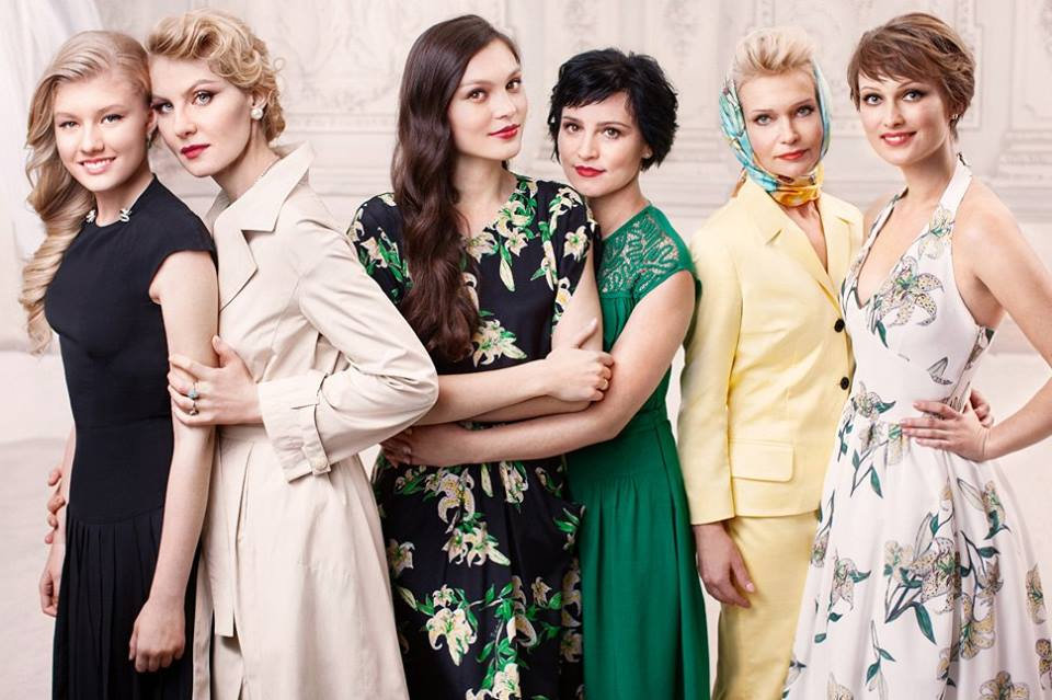 Знаменитые российские женщины с дочерьми