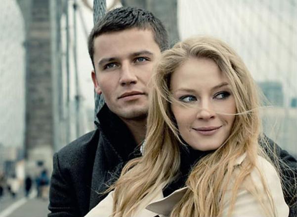Светлана Ходченкова с мужем