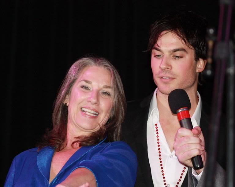 Йен Сомерхолдер со своей мамой Эдной