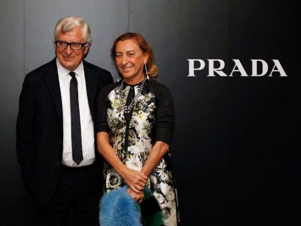 Миучча Прада и Патрицио Бертелли