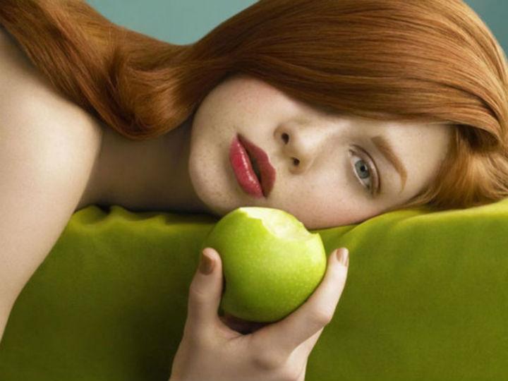 Яблоки сделают тебя красивой