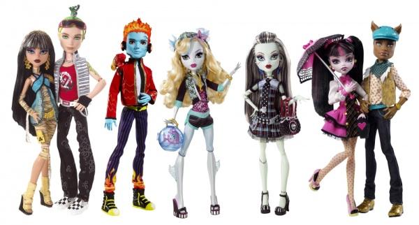 Играть в куклы монстер хай играть в куклы