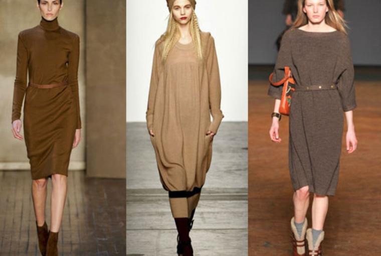 Модные платья осенне- зимнего сезона 2011- 2012 ведущих брендов