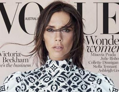 Первый взгляд  Виктория Бекхэм на обложке Vogue Австралия f413cc9820e