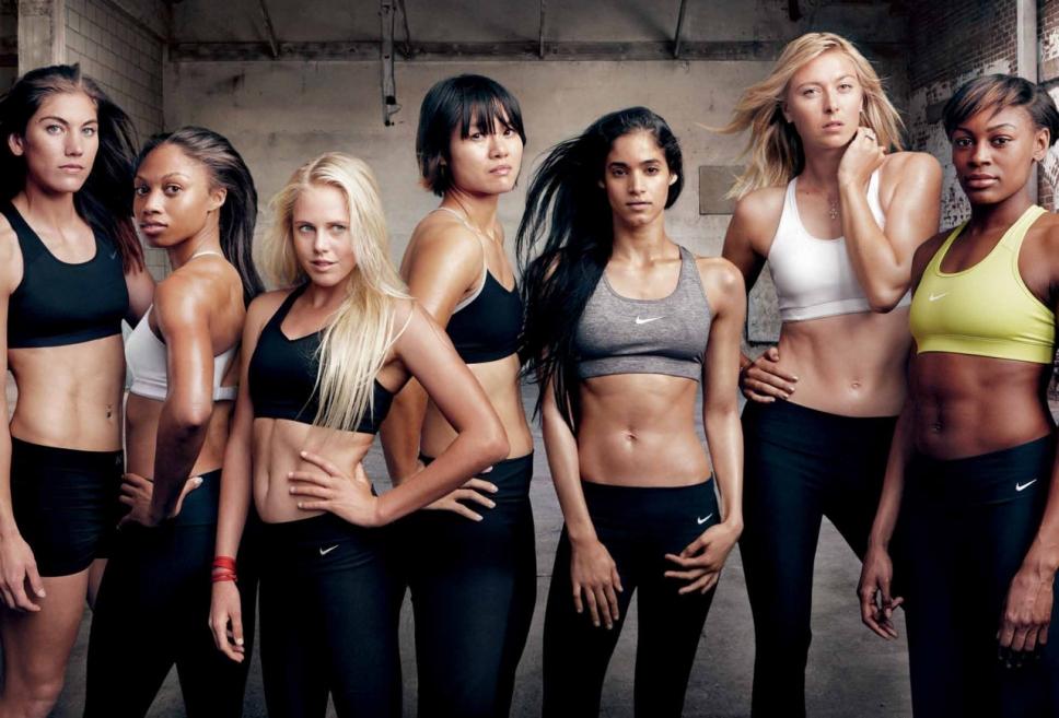 Фотографии девушек в спортзале 10 фотография