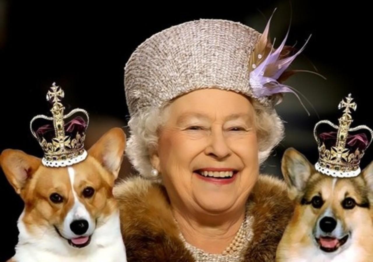 Королева Елизавета II на обложке Vanity Fair