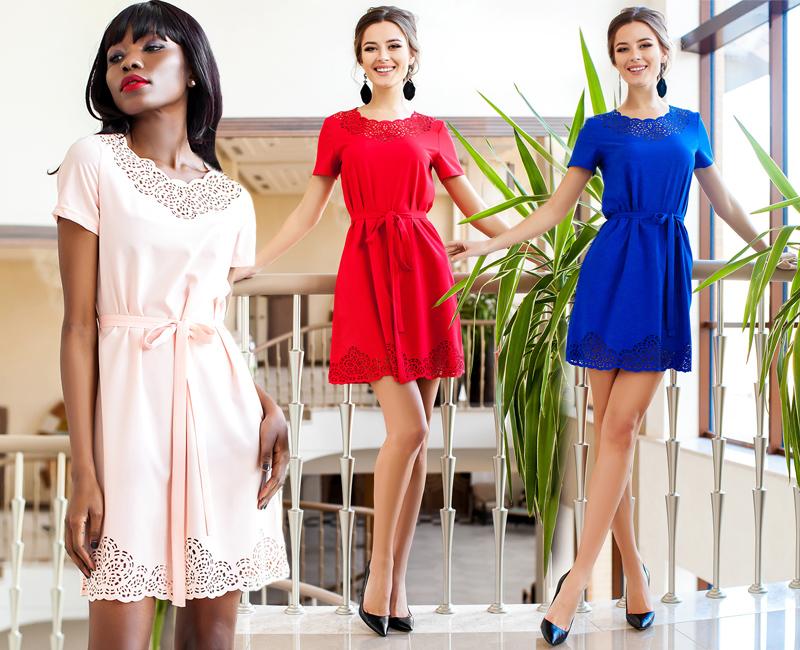 Изысканные модные платья